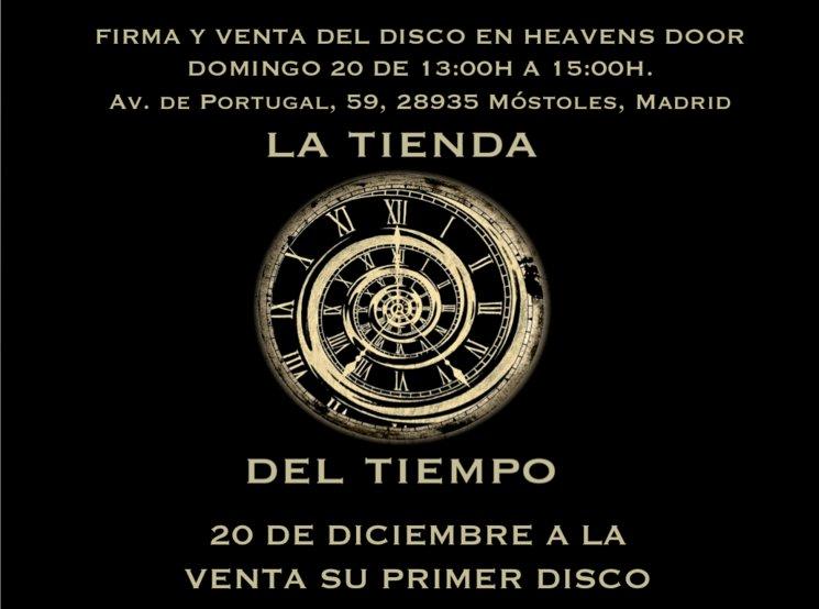 Hola amig@s tender@s!! este domingo 20 sale nuestro disco!!!