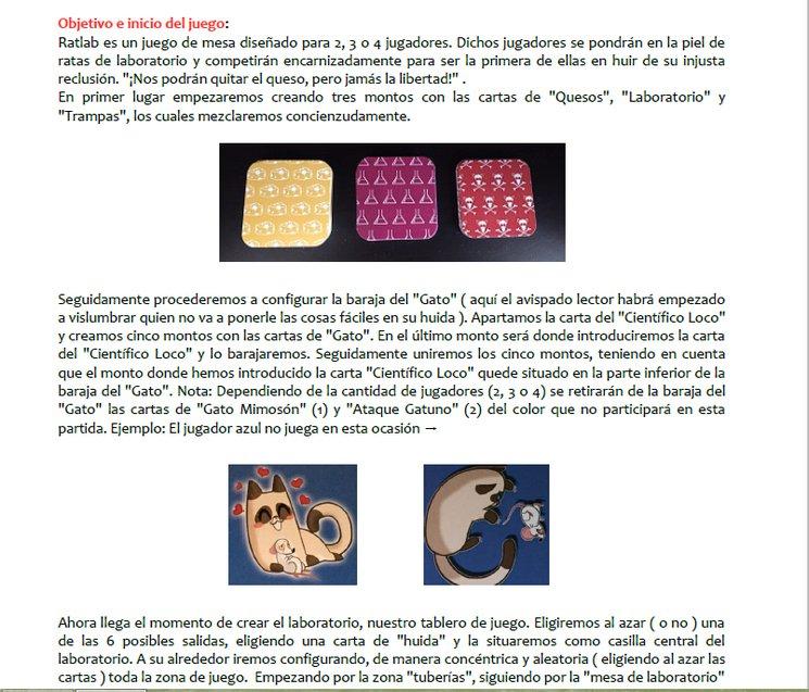 Manual de LabRat a vuestra entera disposición! :)