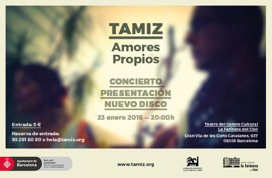 Confirmación Concierto Presentación Disco 'Amores Propios'