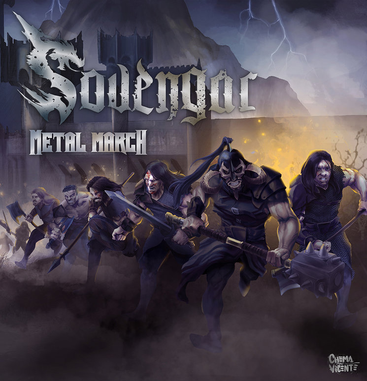 "PORTADA Y TRACKLIST DE ""METAL MARCH"""