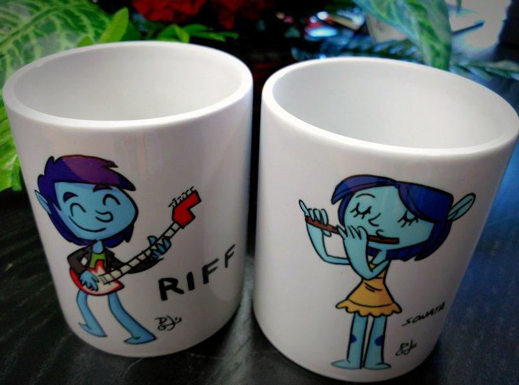 ¿Quién desayunará con RIFF y SONATA?