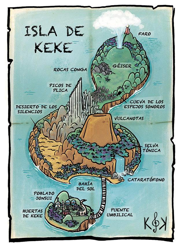 El hogar jonsuita...¡la Isla de Keke!