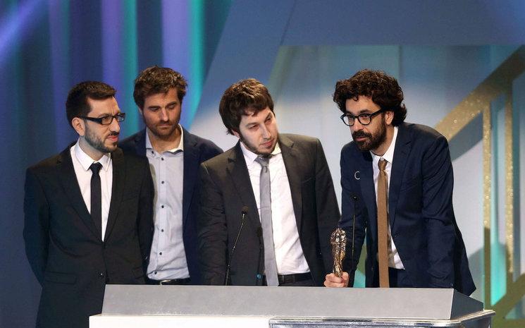 Aritz Cirbián, Sergi Pérez y el resto del equipo de