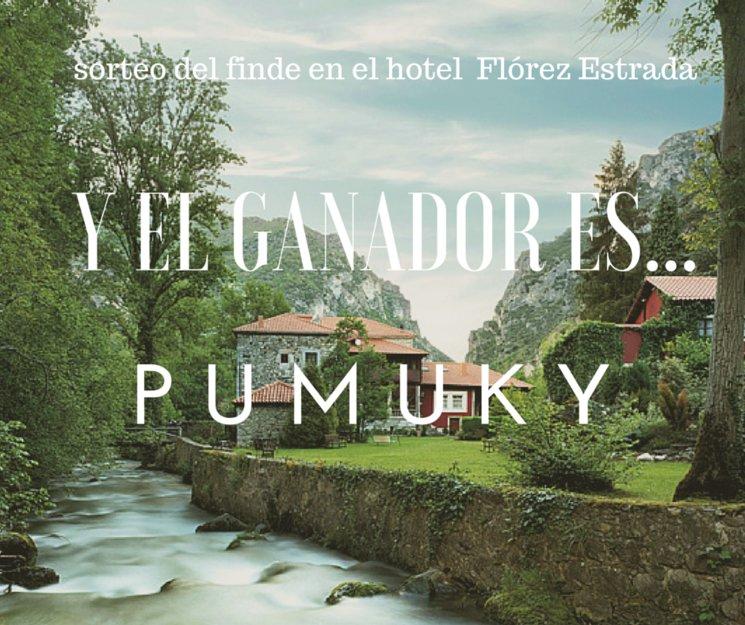 YA TENEMOS GANADOR DEL SORTEO DEL FINDE EN EL HOTEL FLÓREZ ESTRADA