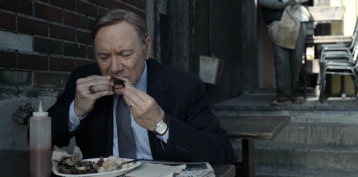 Las costillas favoritas de Frank Underwook de House of Cards son las del restaurante Freddy