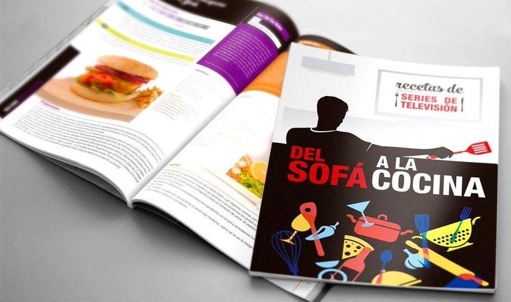 El libro Del Sofá a la Cocina de Daniel López y Valentina Morillo