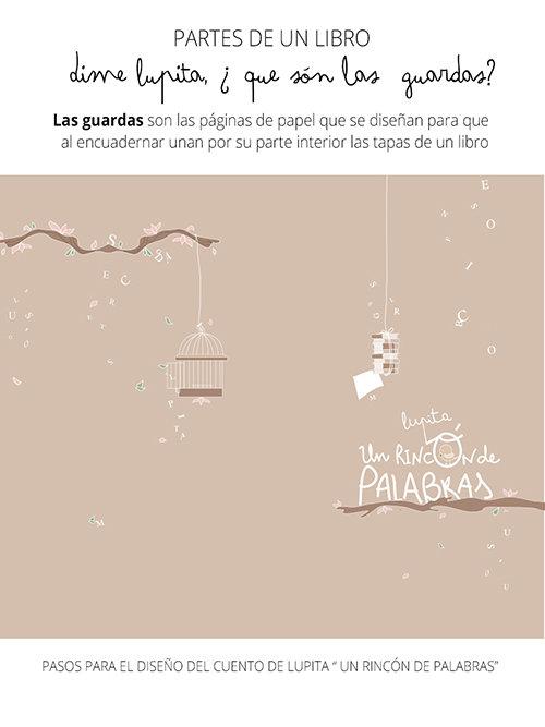 Pasos de preparación del diseño del cuento de Lupita — Un Rincón de ...