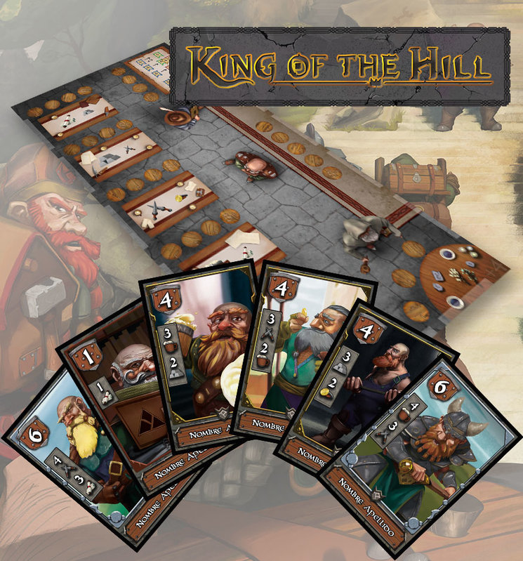 King Of The Hill The Dwarf Throne Verkami