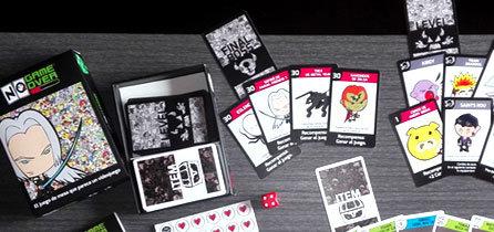 Ya tenemos la primera copia del juego de cartas No Game Over