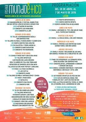 Programa completo del Festival