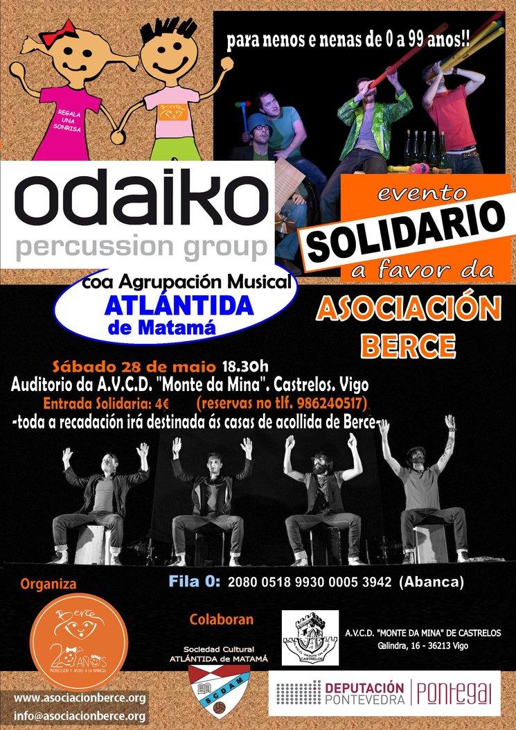 Evento solidario de la Asociación Berce en Vigo