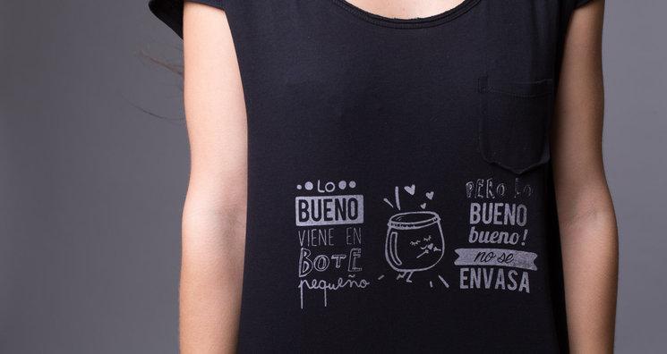 f05b1ee7f94d6 Lo bueno bueno no se envasa creado por Fabiola Pérez y Alejandra Carretero  ofrece una reflexión sobre las cosas importantes de la vida