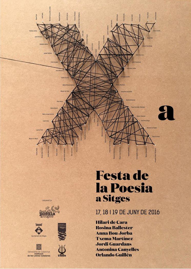 Ja la tenim aquí: la imatge de la 10a Festa de la Poesia a Sitges