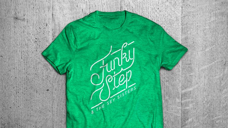 T Funkystep & The Sey Sisters, model 1