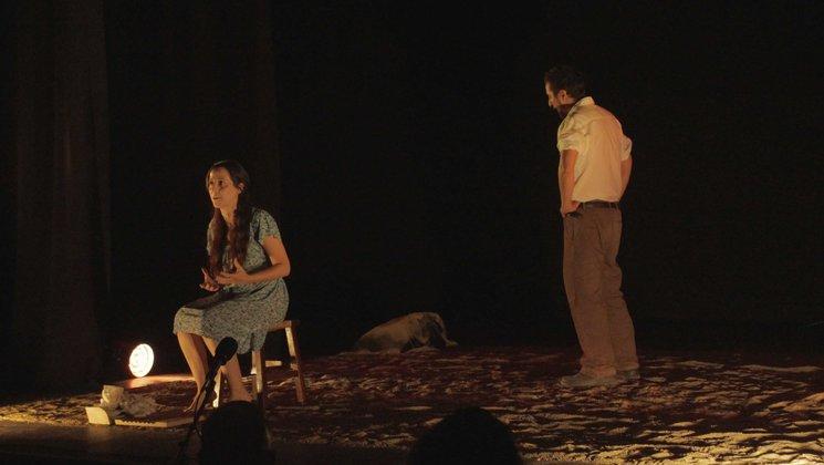 Gran estreno de Yerma , tierra muerta