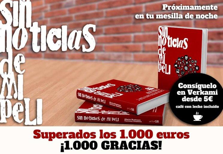¡Superamos los 1.000 euros! ¡1.000 gracias!