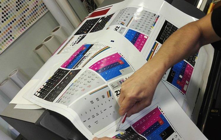 Imprimiendo etiquetas / Printing stickers!!!