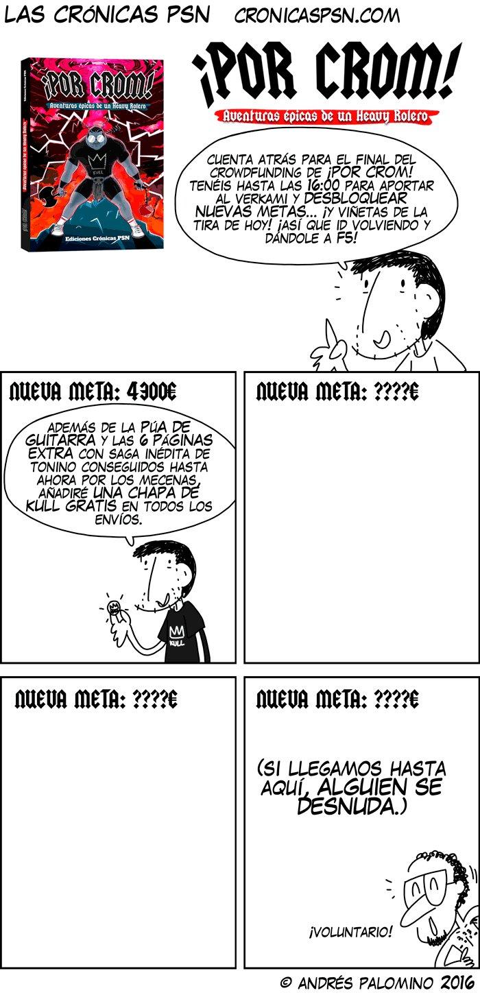 TIRA CRÓNICAS PSN