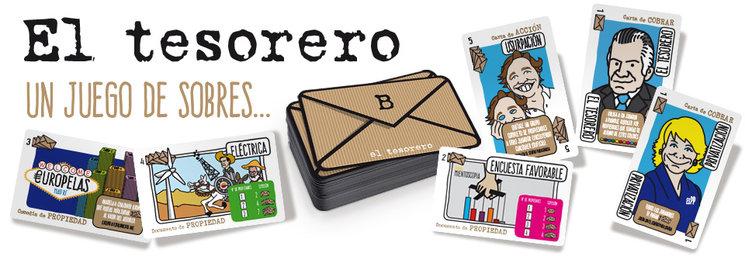 El Tesorero a la venta en internet www.juegoeltesorero.com