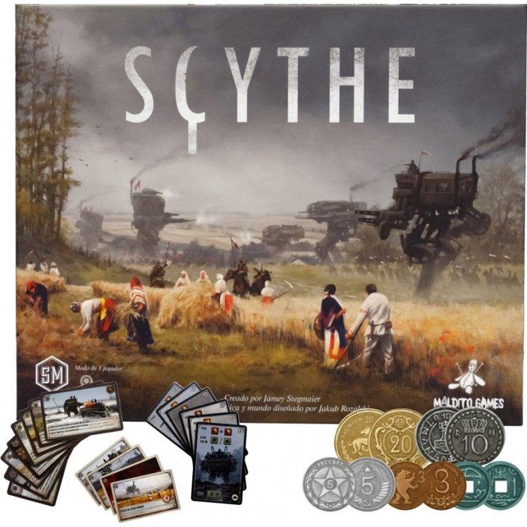 Preventa Scythe, Parade y Arboretum
