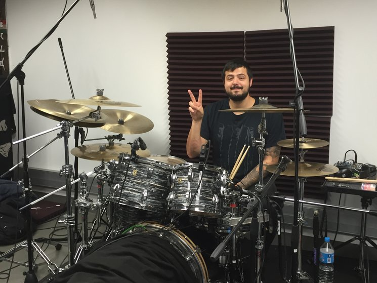 DRUMS RECORDING FINISHED!
