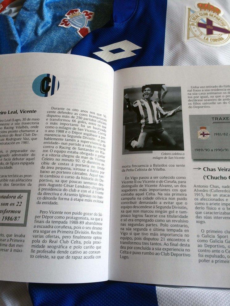 """""""Os Nosos"""" únese á celebración de #ONosoDerbi cun libro que une Depor e Celta"""