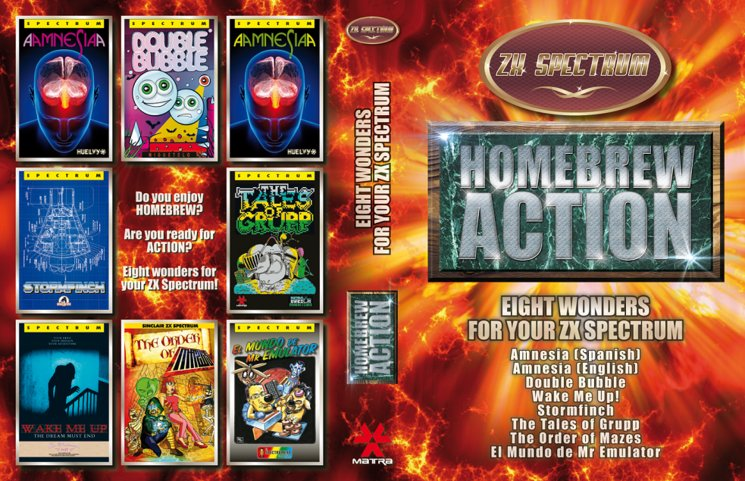 Pack Homebrew Action, que incluye AMNESIA en formato físico.