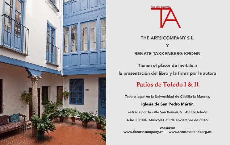 """Presentación del libro """"Patios de Toledo"""""""