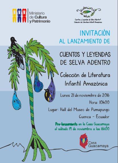 Presentación en Cuenca: Cuentos y Leyendas de Selva Adentro