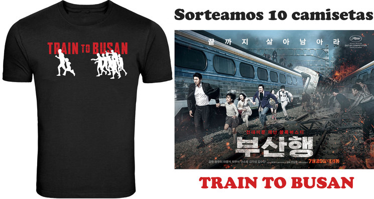 Sorteamos 10 camisetas Train to Busan