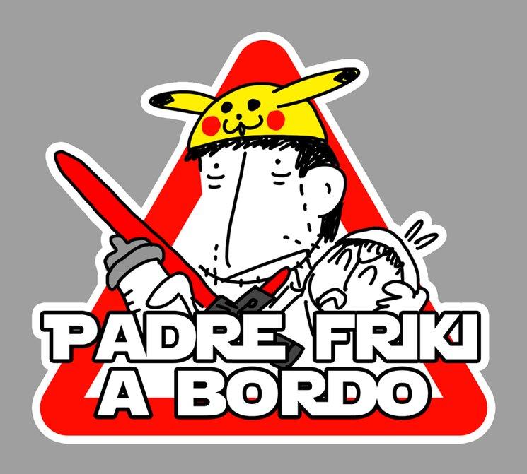 PADRE FRIKI A BORDO