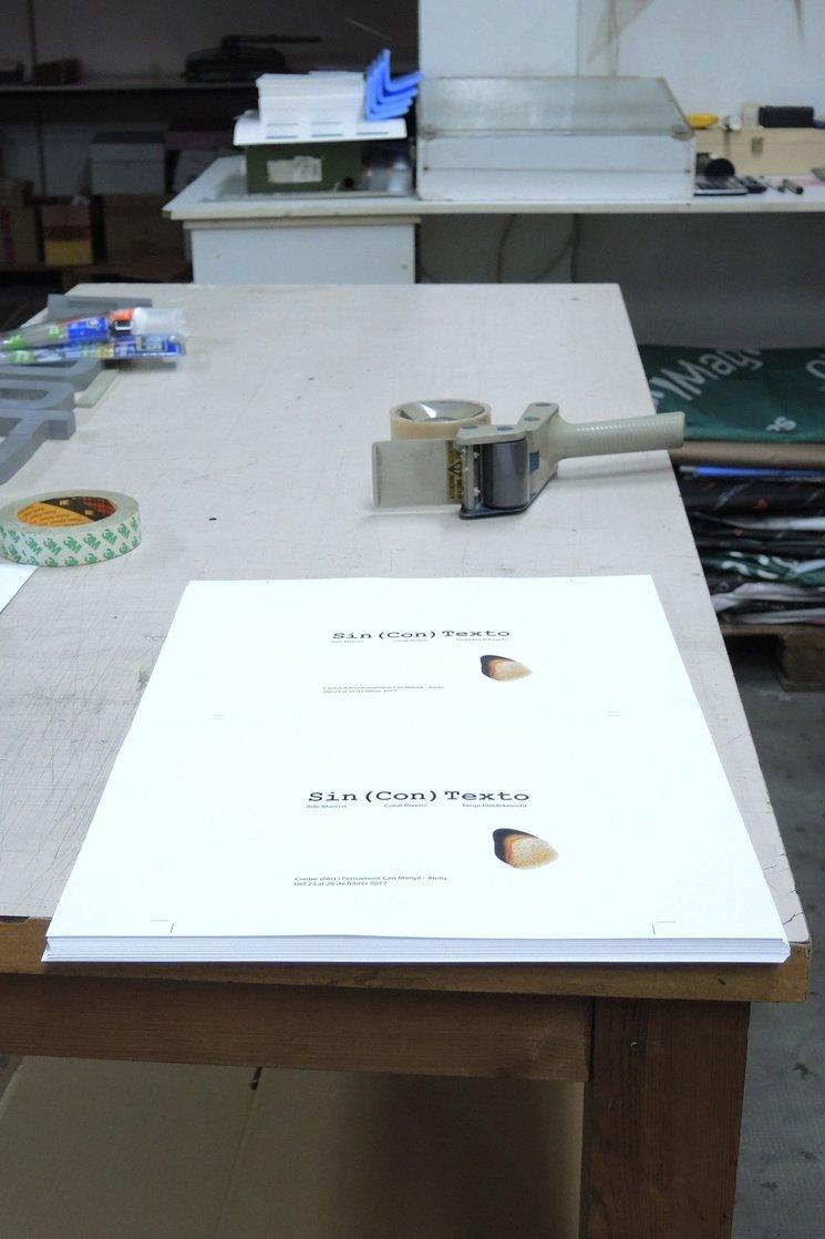 El catálogo está en el horno...