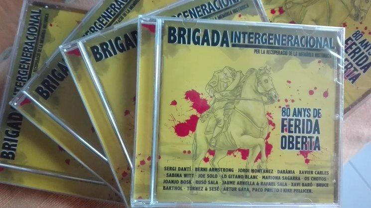 Ja tenim el CD a punt pel concert del 25F