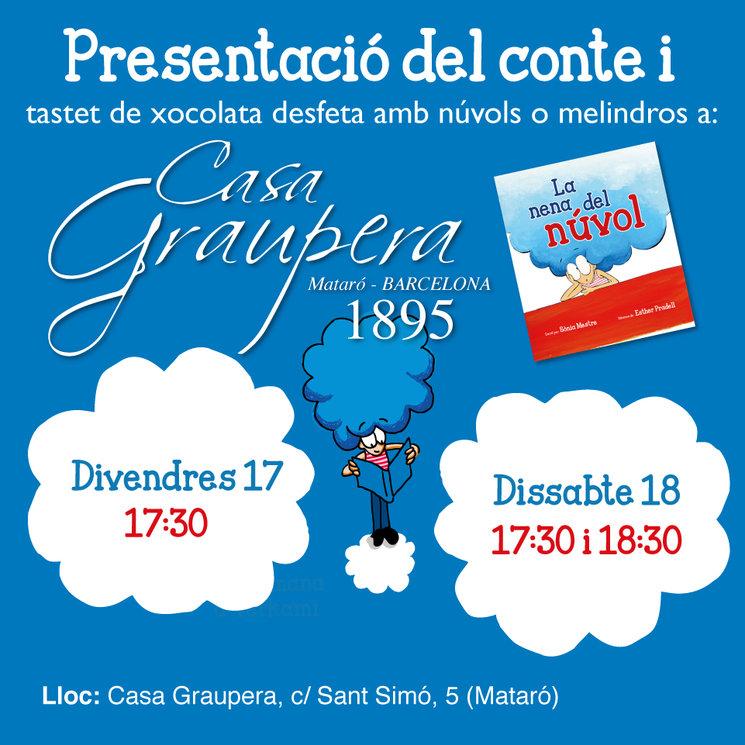 Per aquells que no vàreu poder venir i per als que vulgueu repetir! Presentem el conte a Mataró!!