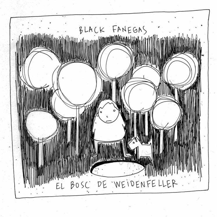 Portada disco Black Fanegas