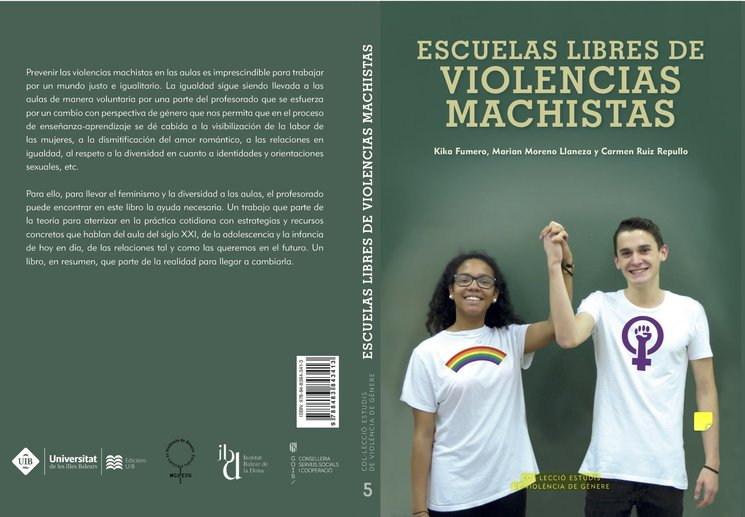 """Presentació del llibre """"Escuelas libres de violencias machistas"""" (16-05-17)"""