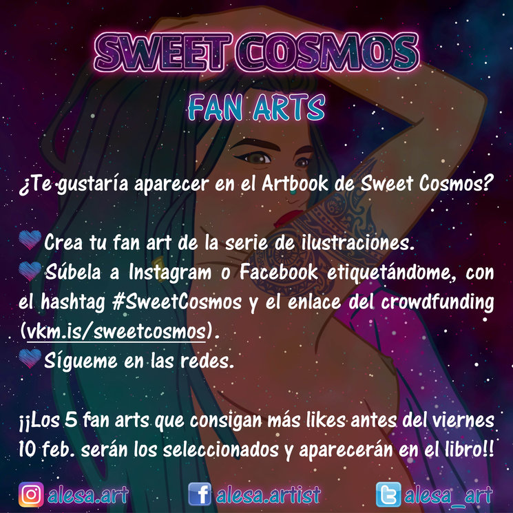 FAN ARTS DE SWEET COSMOS!!!