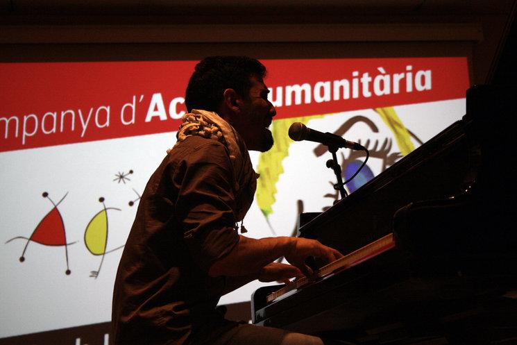 Algunes imatges del Concert d'en Aeham Ahmad a Barcelona