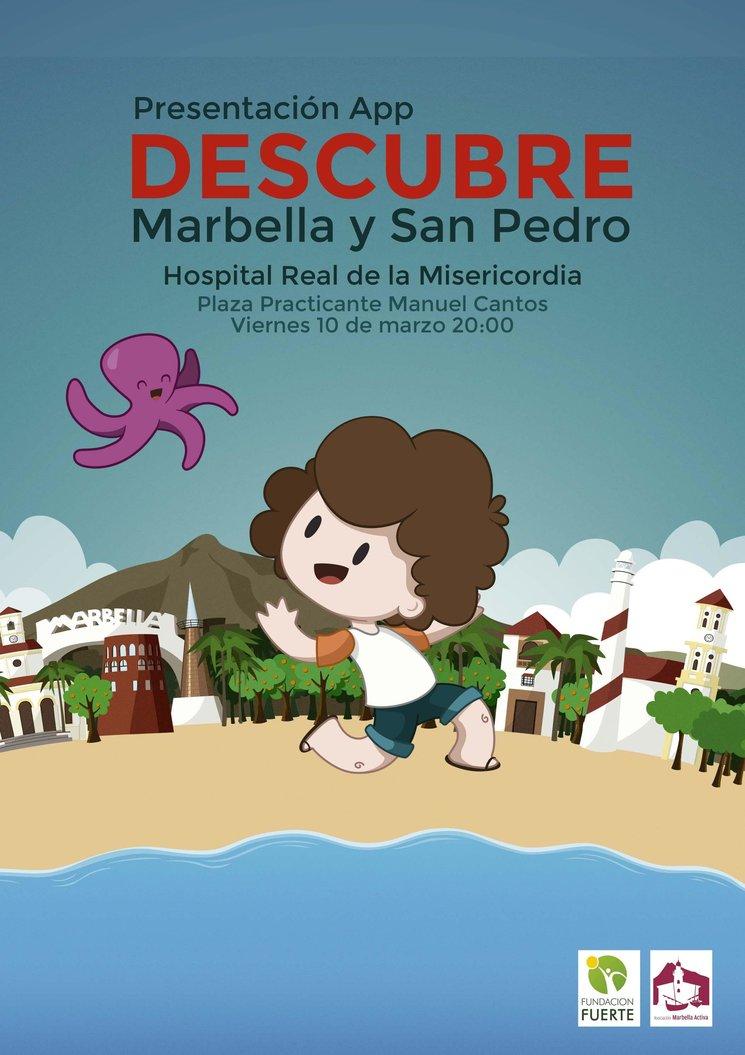 """Presentación de la App """"Descubre Marbella y San Pedro"""""""
