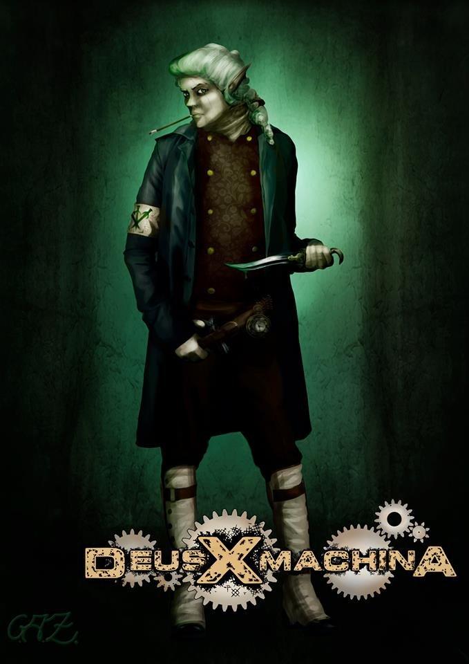 Futuro del juego — Deus X machina RPG