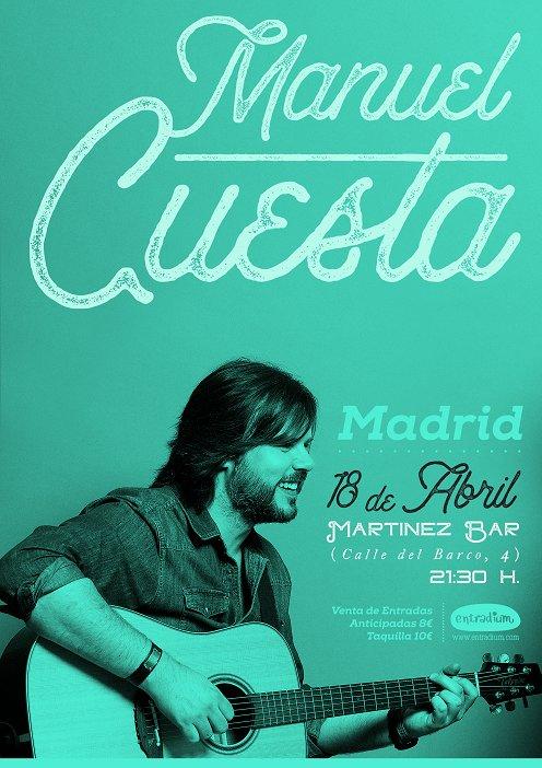 Concierto el 18 de Abril en Martínez Bar