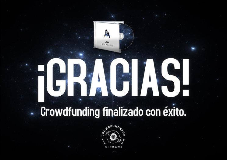¡CROWDFUNDING FINALIZADO CON EXITO! ¡