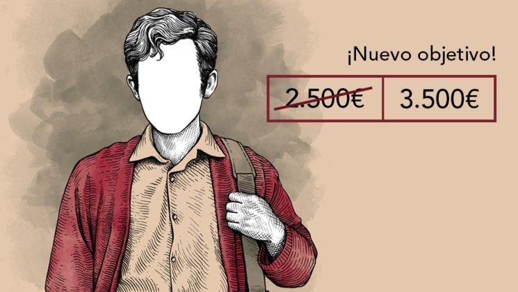 PRIMER RETO CONSEGUIDO. NUEVO OBJETIVO 3500€ + LIBRETA
