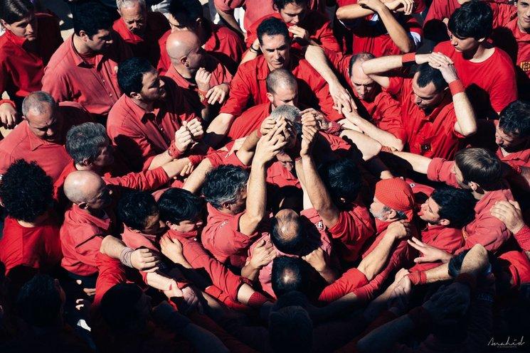 """Presentació del llibre """"35 converses castelleres amb un Xicot de Vilafranca"""""""
