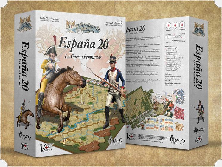 Cajas Juego España 20 de Napoleonic 20