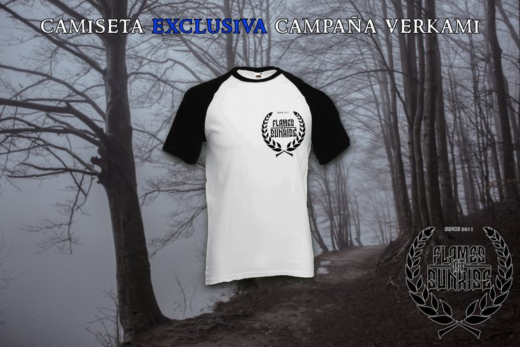 Camiseta baseball exclusiva Verkami