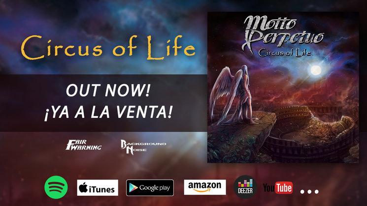 CIRCUS OF LIFE ya a la venta!!