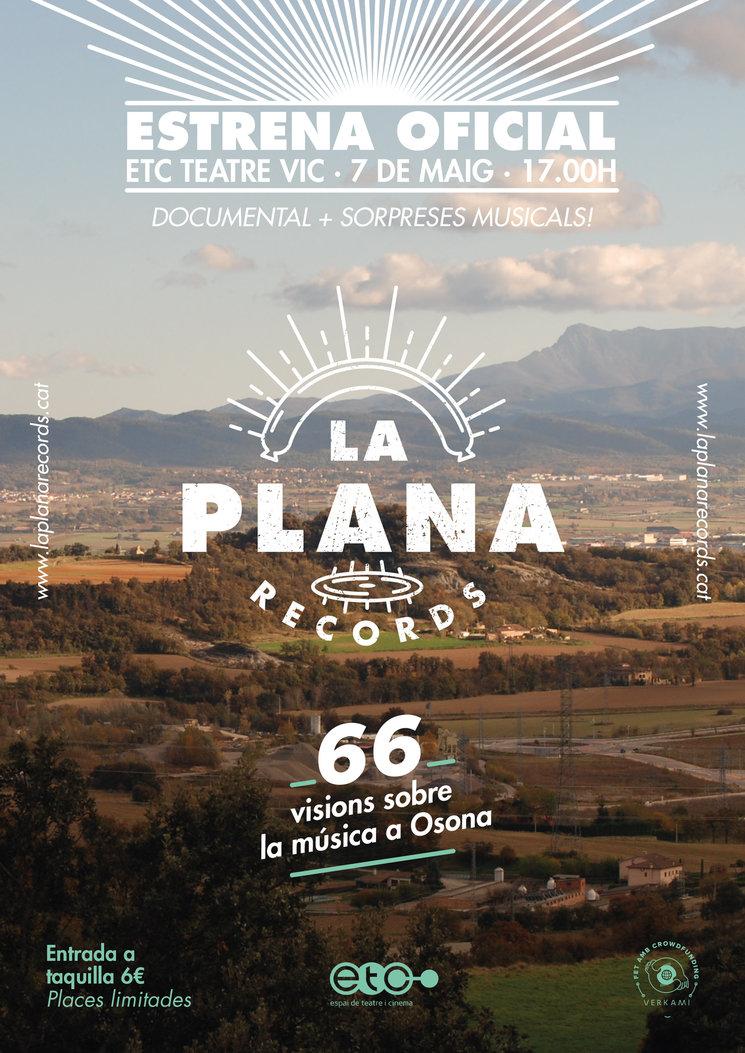 L'Estrena Oficial de La Plana Records, aquest diumenge!