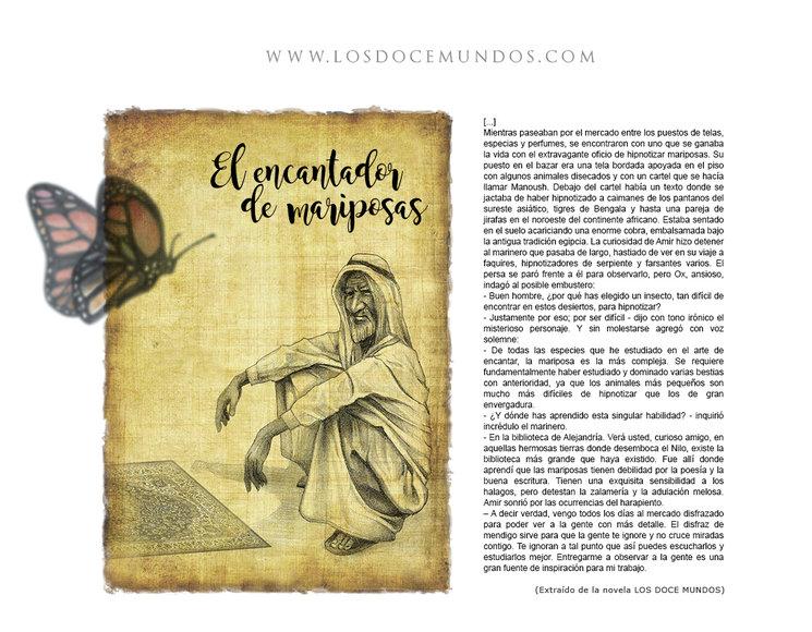 LOS DOCE MUNDOS - El encantador de Mariposas