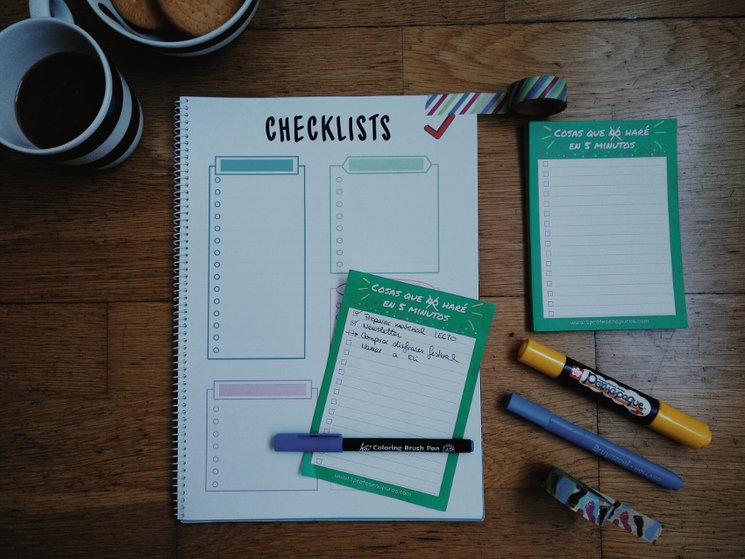 Novedades: ¡ya están listos los checklist!